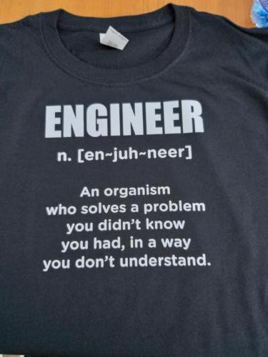 Inginer - tricou personalizat
