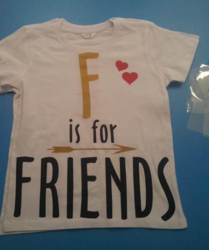 Tricouri personalizate galati - f for friends