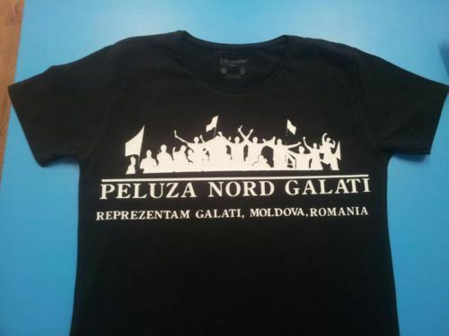 Tricouri personalizate galati - tricou negru